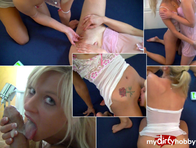 My first FIST! Extremely perverse threesome!