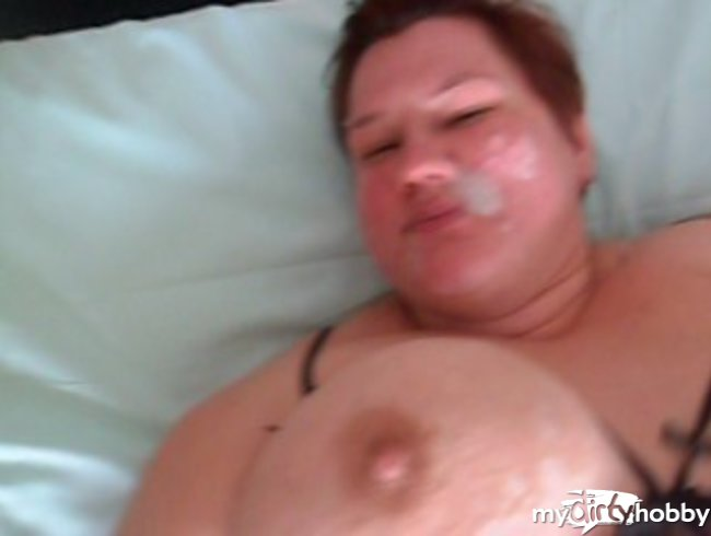 hotel style fat cum load in the face