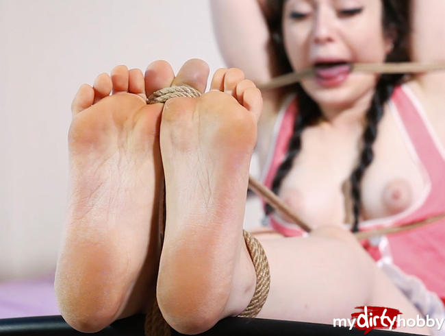 Bastinado and sole ticklish
